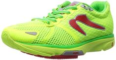 Womens Newton Running Distance IV CitronGreen 5 B -- You can get additional details at the image link.