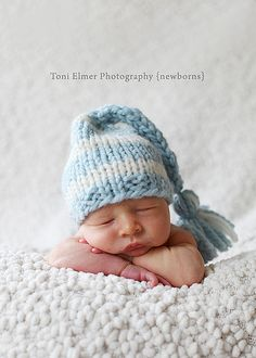 Newborn Baby Hat Boy Elf Hat Photography by simplybasicdesigns