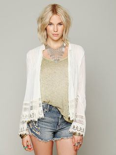 Free People FP ONE Softly Woven Jacket, 98.00