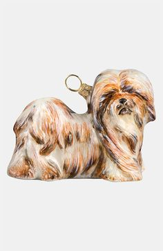 Joy to the World Collectibles 'Lhasa Apso' Ornament - I need this!! Yes, it's not a Shih Tzu but it looks like Louis!