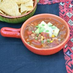 Busy Day Slow Cooker Taco Soup - Allrecipes.com