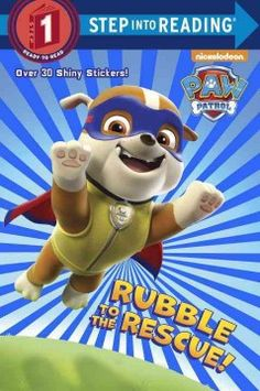 ER PAW. Rubble the puppy tries to be a superhero for a day but finds he still needs a helping paw from the rest of his PAW Patrol friends.