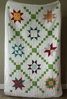 star sampler quilt