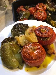 Greek Recipes, Vegan Recipes, Cookbook Recipes, Cooking Recipes, Cyprus Food, Greek Cooking, Greek Dishes, Food Decoration, Different Recipes