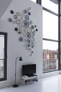 Decorare una parete con i piatti  (Foto 10/40) | Designmag