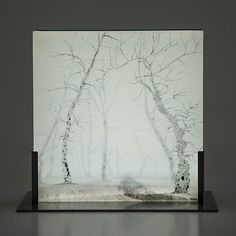 Gnarled Sentinels II by Paul Messink: Art Glass Sculpture available at www.artfulhome.com