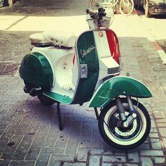 Italian Pride ~ Vespa #vespa #italiandesign