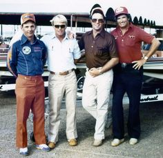 Vintage pic- Bobby Murray-Roland Martin-Bill Dance-Tom Mann- Back in the day.