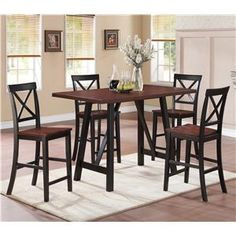 16 Counter Height Dining Sets Ideas, Bar Height Kitchen Table And Chairs Set