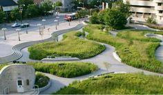 Canadian Museum of Civilizations Plaza, Claude Cormier Associes, landscape architecture, green renovation, prairie, urban landscape,