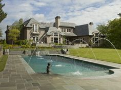 traditional exterior by Bruce Kading Interior Design