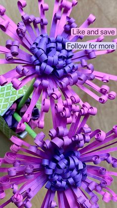 Paper Flowers For Kids, Paper Crafts For Kids, Tissue Paper Flowers Easy, Handmade Flowers, Diy Flowers, Origami Flowers, Paper Crafts Origami, Paper Flower Tutorial, Flower Crafts