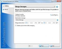 Merge Storages, fusionner des répertoires simplement avec Outlook