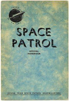 1952 spacepatrol official handbook 1