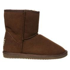 Chocolate Short Sheepskin UGG Boot. Price was $299.95 and is now $99.00. Shop these and other Original UGG Boots now at Ozsale.