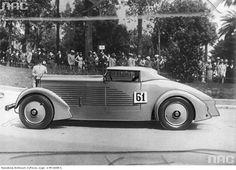 Monaco Grand Prix Contest, Monte Carlo, 1933.