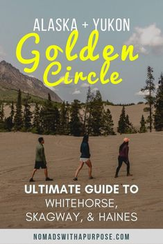 The Canada/Alaska Golden Circle is a gorgeous drive from forest to desert to snow capped peaks to thousand foot waterfalls & crisp sea salt air. Yukon Alaska, Yukon Canada, Alaska Travel, Canada Travel, Alaska Trip, Alaska Cruise, Mount Rushmore National Park, Road Trip Hacks, Road Trips