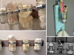 I pratici contenitori fai da te per il bagno