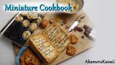Miniature Cookbook Tutorial - Miniature baking scene