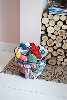winter - the perfect time for knitting and crafting