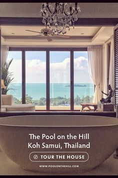 Rent this Airbnb in Thailand: The Pool on the Hill is a private villa in Thailand with eco luxury features including an infinity pool and ocean views. Located in Koh Samui, Thailand near Choeng Mon Beach. See inside, tour our private villa and book your stay at www.poolonthehill.com/?utm_content=buffer9526e&utm_medium=social&utm_source=pinterest.com&utm_campaign=buffer