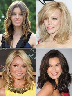 In the mean time, check out these women with beautiful mid length hair.