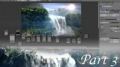 Create Gorgeous Waterfalls - Blender Tutorial - 03 : Rendering & Compost...