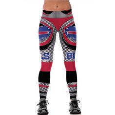 NFL Team Women Leggings with 3D Print Design