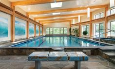 indoor swimming pools, pool enclosures, custom indoor pools