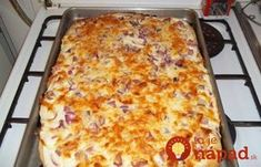 Jeśli tylko macie ochotę, możecie poeksperymentować z dodatkami! Slovak Recipes, Russian Recipes, Bread Recipes, Cake Recipes, Cooking Recipes, A Food, Food And Drink, Flatbread Pizza, Lasagna