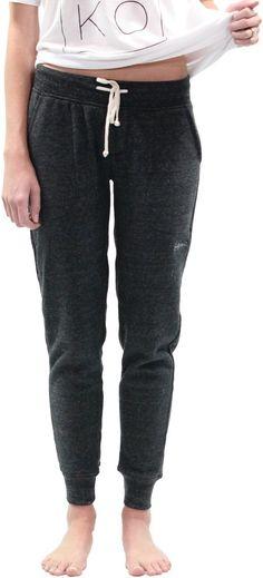 Lay Back Fleece Jogger, Charcoal (Women's)