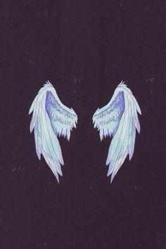 Imagem de angel, wings, and wallpaper Tumblr Wallpaper, Black Wallpaper, Cool Wallpaper, Wallpaper Backgrounds, Angel Wallpaper, Wings Wallpaper, Wallpapers Tumblr, Hipster Wallpaper, Colorful Backgrounds