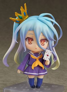 Nendoroid No Game No Life #NGNL Shiro starts preorder. Sora also available. View here: http://www.blacknovatoys.com/nendoroid-no-game-no-life-shiro.html