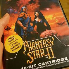 One of my all time favourite sci-fi RPG. #FlashbackFriday #fbf #flashback #game #gaming #console #cartridges #megadrive #genesis #phantasystar #rpg #gurkozgames