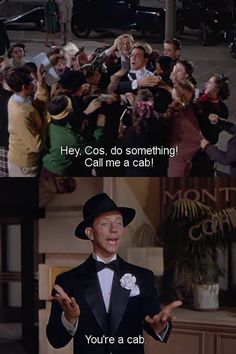 Singing in the Rain. Donald O'Connor makes this movie worth watching