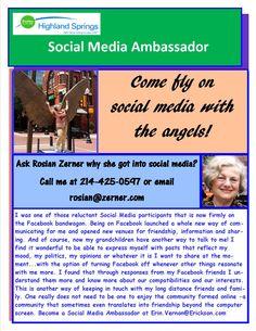 One of Erickson Living's Social Media Ambassadors from Highland Springs Dallas!