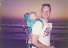 Bradley Nowell ❤️ 1968-1996. Love this picture of him and his son!