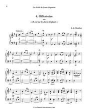 Partition , Offertoire sur «Il est né le divin Enfant», Les Noëls du Jeune Organiste