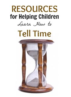 Help Children Learn to Tell Time