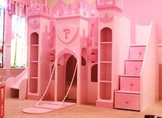 GIRLS BEDS - UNIQUE CUSTOM THEMED KIDS PLAYHOSUE BEDS - BEST PRICES ON THE MARKET