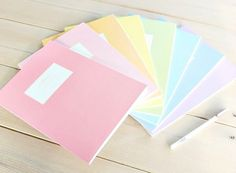 Picture of pastel, school and notebook, . Picture of pastel, school and notebook, book School Stationery, Stationery Items, School Suplies, School Tool, School Accessories, Cool Notebooks, Back To School Supplies, Cute Stationary School Supplies, Too Cool For School