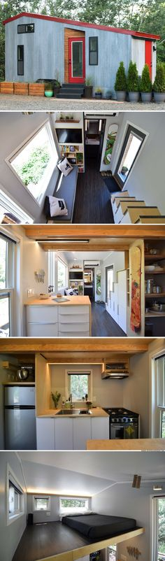 The SHEDsistence Tiny House (204 sq ft)