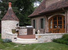 St. Louis County Residences - traditional - Patio - St Louis - Frisch Masonry, Inc.