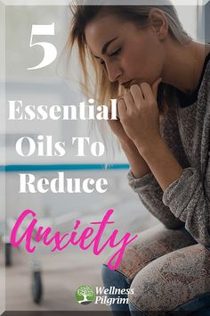We all experience anxiety from time to time. There are essential oils that can be effective at helping to reduce the uneasiness and restoring calm. We list 5 common essential oils that excel in restoring peace to your nervous mind. Anxiety Help, Stress And Anxiety, Anxiety Tips, Anxiety Relief, Stress Relief, Natural Treatments, Natural Remedies, Homeopathic Remedies, Health And Wellness
