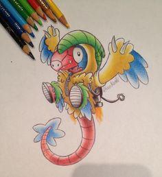 itsbirdy Pokemon archen
