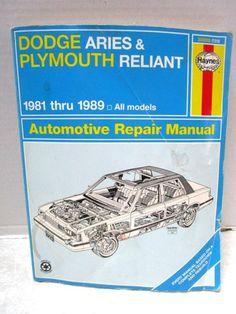 1987 Plymouth Reliant Engine Diagram Box Wiring Diagram