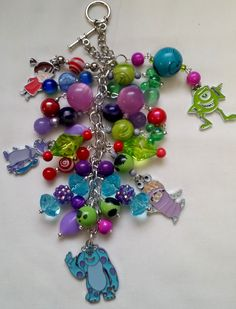 Monsters Inc Purse Charm   ~ available at https://www.etsy.com/shop/magic365