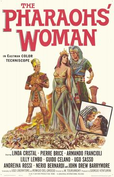 The Pharaohs Woman Movie Poster x Iconic Movie Posters, Iconic Movies, Film Posters, John Drew Barrymore, Sword And Sorcery, Drama Film, Love Movie, Classic Movies, Feature Film