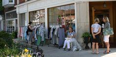Hinsdale Merchants Sidewalk Sale 2012