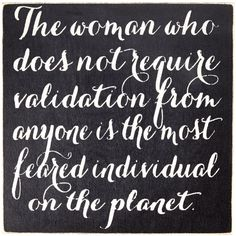 Sara's Signs 'The Women Who Does Not Seek Validation...' Wall Sign (120 ARS) ❤ liked on Polyvore featuring home, home decor, wall art, outside home decor, outdoor signs, outside signs, outdoor wall art and interior wall decor